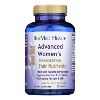 Biomed Health Advanced Women's Bao Shi Restorative Hair Nutrients - 120 Caplets