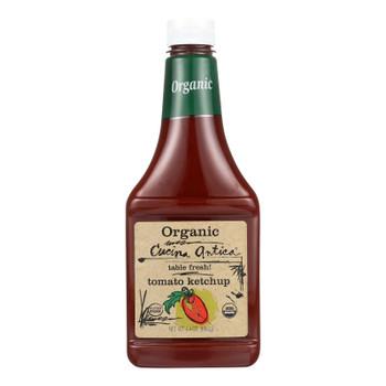 Cucina Antica - Organic Tomato Ketchup - Case Of 12 - 24 Oz.