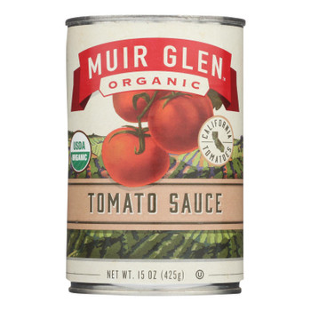 Muir Glen Tomato Sauce - Tomato - Case Of 12 - 15 Oz.