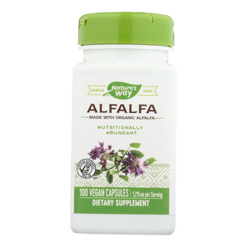 Nature's Way - Alfalfa Young Harvest - 100 Capsules