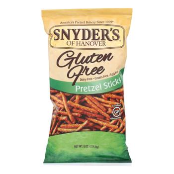 Snyder's Of Hanover Pretzel Sticks - Gluten Free - Case Of 12 - 8 Oz.