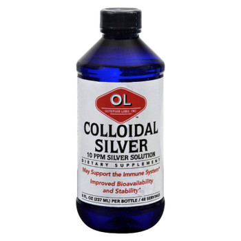 Olympian Labs Colloidal Silver - 10 Ppm - 8 Fl Oz