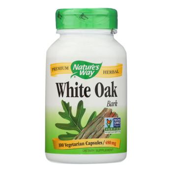 Nature's Way - White Oak Bark - 100 Capsules