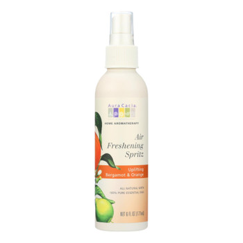 Aura Cacia - Air Freshening Spritz Bergamot And Orange - 6 Fl Oz