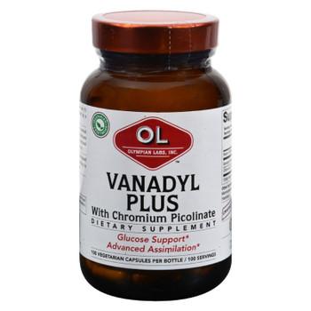 Olympian Labs Vanadyl Plus - 10 Mg - 100 Capsules