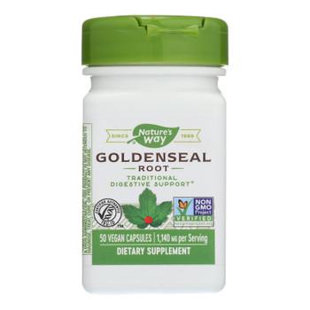 Nature's Way - Goldenseal Root - 50 Capsules