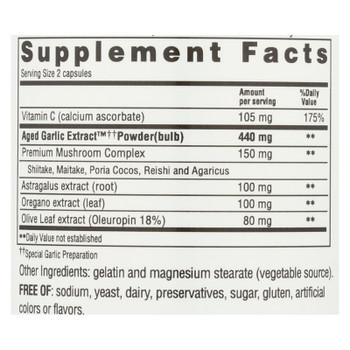 Kyolic - Aged Garlic Extract Immune Formula 103 - 200 Capsules