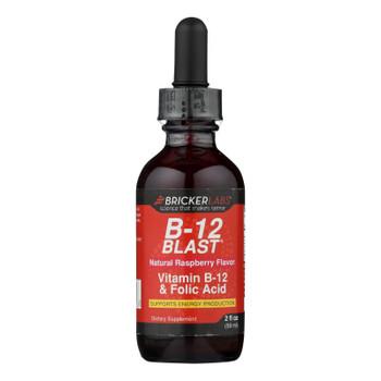 Bricker Labs - Blast B12 Vitamin B12 And Folic Acid - 2 Fl Oz
