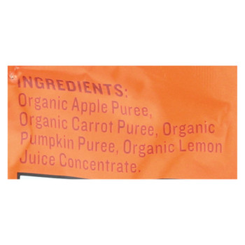 Peter Rabbit Organics Baby Food - Organic - Vegetable And Fruit Puree - Pumpkin Carrot And Apple - 4.4 Oz - Case Of 10