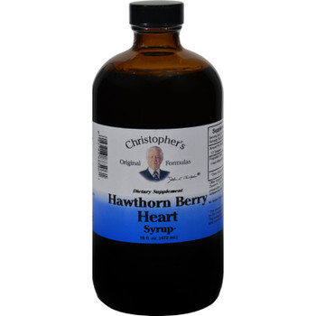 Dr. Christopher's Hawthorn Berry Heart Syrup - 16 Fl Oz