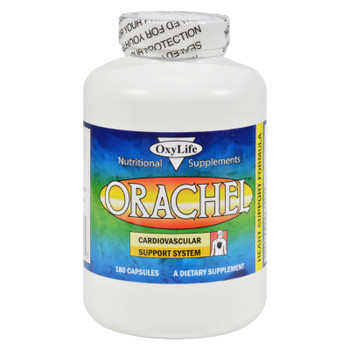 Oxylife Products Orachel Cardiovascular Support System - 180 Caps