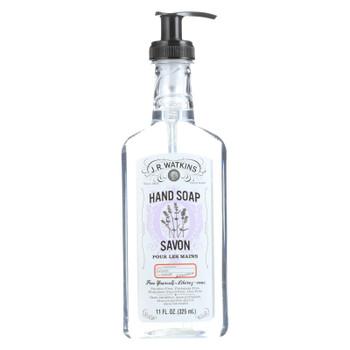 J.r. Watkins Liquid Hand Soap - Lavender - 11 Oz