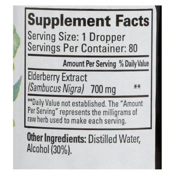 Quantum Elderberry Immune Defense Extract - 2 Fl Oz