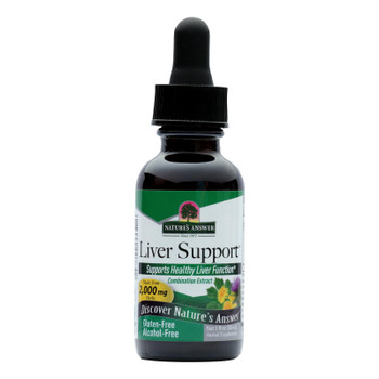 Nature's Answer - Liver Support Alcohol Free - 1 Fl Oz