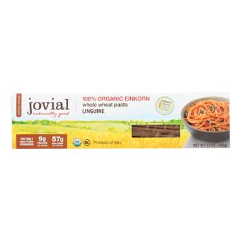 Jovial - Whole Wheat Einkorn Pasta - Linguine - Case Of 12 - 12 Oz.