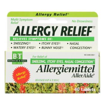 Boericke And Tafel - Allergiemittel Alleraide - 40 Tablets