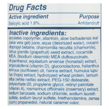 Home Health Everclean Antidandruff Shampoo Unscented - 8 Fl Oz