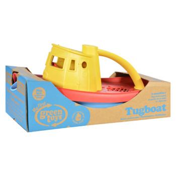 Green Toys Tug Boat - Yellow
