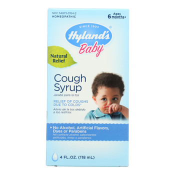 Hyland's Homeopathic Baby Cough Syrup - 4 Oz