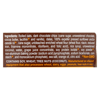 Lauras Wholesome Junk Food Cookies - Oatmeal Chocolate Chip - 7 Oz - Case Of 6