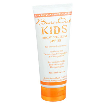 Burn Out - Physical Sunscreen - Kids - Spf 35 - 3.4 Oz
