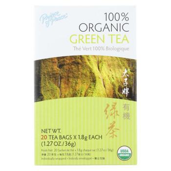 Prince Of Peace Organic Green Tea - 20 Tea Bags
