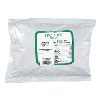Frontier Herb Salt - Himalayan Pink - Coarse Grind - Bulk - 1 Lb