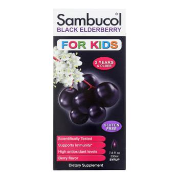 Sambucol - Black Elderberry Syrup For Kids - 7.8 Oz