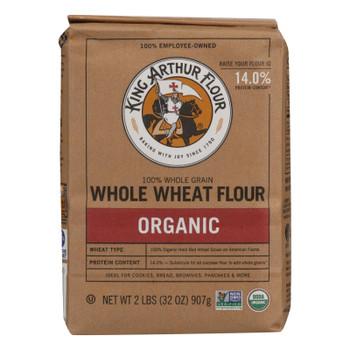 King Arthur Whole Wheat Flour - Case Of 12 - 2