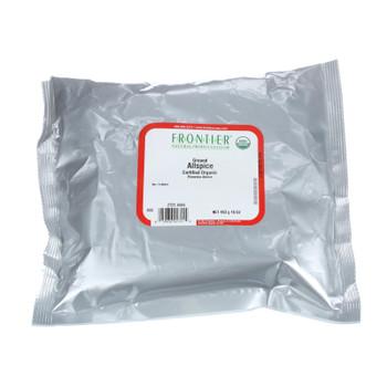 Frontier Herb Allspice - Organic - Powder - Ground - Select Grade - Bulk - 1 Lb