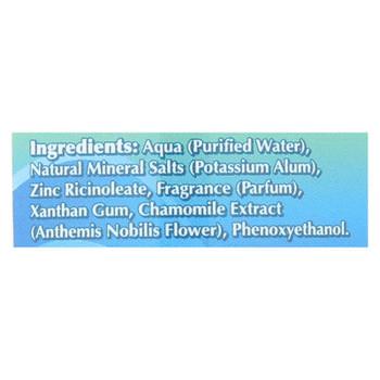 Naturally Fresh Roll On Deodorant Crystal Tropical Breeze - 3 Oz