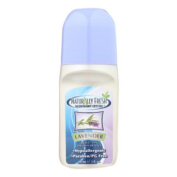 Naturally Fresh Roll On Deodorant Crystal Lavender - 3 Oz