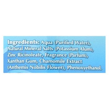 Naturally Fresh Roll-on Deodorant Crystal Ocean Breeze - 3 Oz