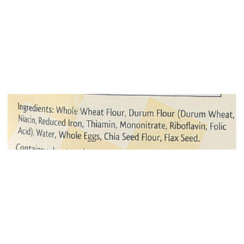Al Dente - Fettuccine - Whole Wheat - Case Of 6 - 12 Oz.