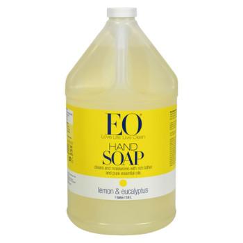 Eo Products - Liquid Hand Soap Lemon And Eucalyptus - 1 Gallon