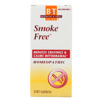 Boericke And Tafel - Smoke Free Naturally - 100 Tablets