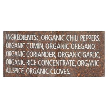 Simply Organic Chili Powder - Organic - .6 Oz - Case Of 6
