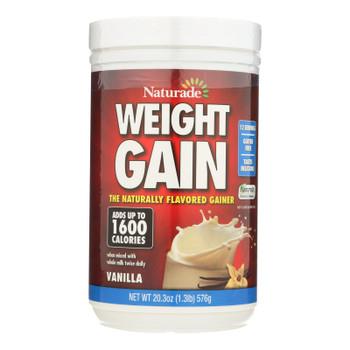 Naturade Weight Gain Vanilla - 20.3 Oz