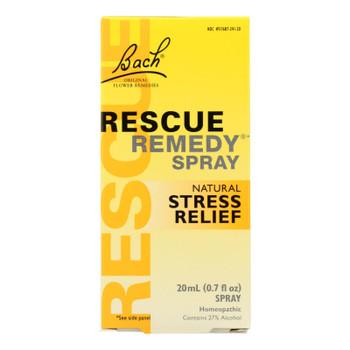 Bach Flower Remedies Essences Rescue Remedy Spray Original Flower - 0.7 Fl Oz