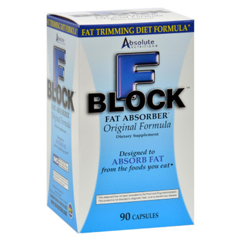 Absolute Nutrition - Fblock Fat Absorber - 90 Caps