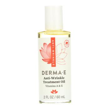 Derma E - Vitamin A With E Wrinkle Treatment Oil - 2 Fl Oz.