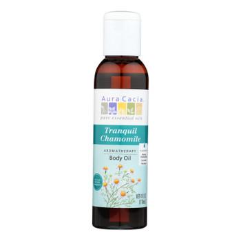 Aura Cacia - Aromatherapy Body Oil Tranquility - 4 Fl Oz