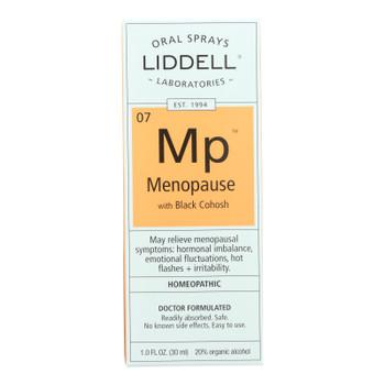 Liddell Homeopathic Menopause Spray - 1 Fl Oz
