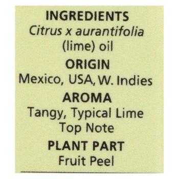 Aura Cacia - Pure Essential Oil Lime - 0.5 Fl Oz