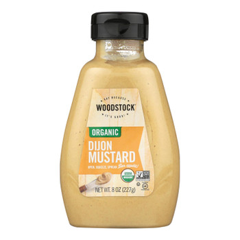 Woodstock Organic Dijon Mustard - 1 Each 1 - 8 Oz