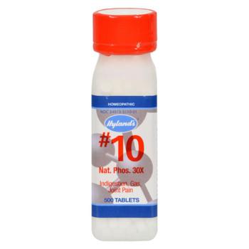 Hylands Homeopathic Number 10 Natrum Phosphoricum 30x - 500 Tablets