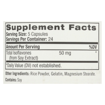 Natrol Women's Soy Isoflavones - 120 Capsules