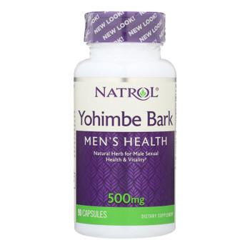 Natrol Yohimbe Bark - 500 Mg - 90 Caps