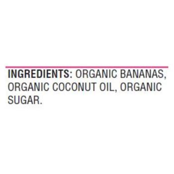Woodstock Organic Sweetened Banana Chips - Case Of 8 - 6 Oz