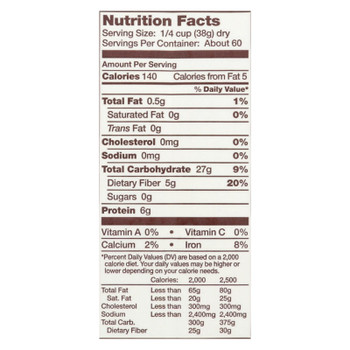 Bob's Red Mill - Whole Wheat Flour - 5 Lb - Case Of 4